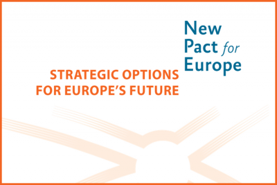 First report of the New Pact for Europe project