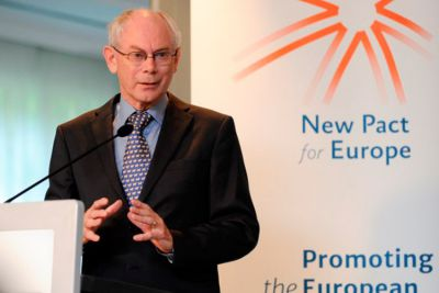 What are Europe's strategic options? New Pact for Europe debate with Herman Van Rompuy