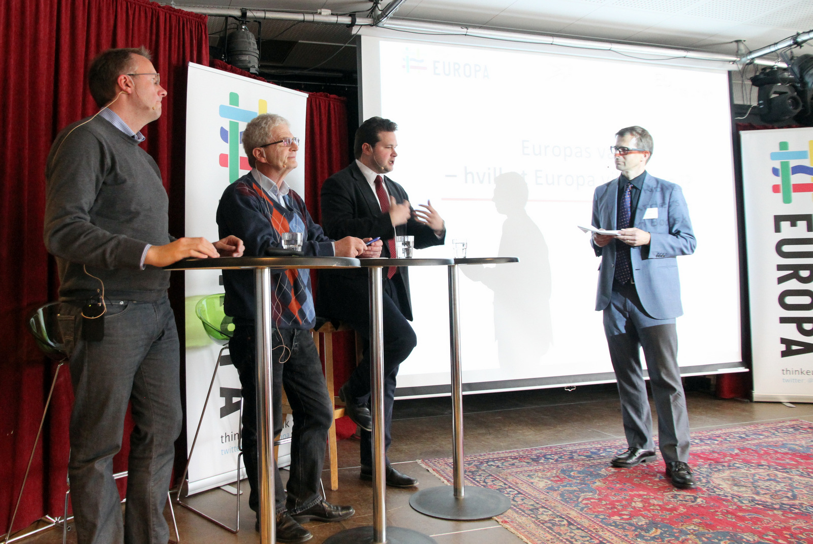 New Pact for Europe in Copenhagen,Thinkeuropa Festival 2015