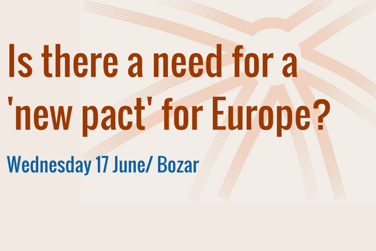 Brussels conference: Is there a need for a 'new pact' for Europe ?