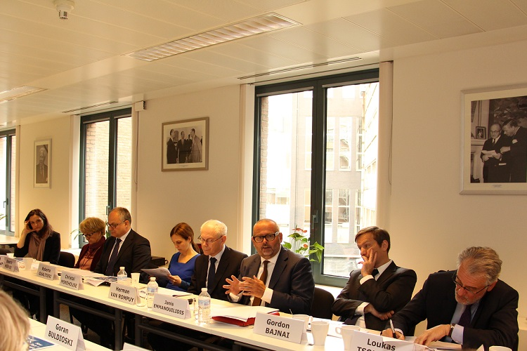 Second meeting of the Advisory Group
